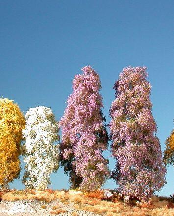 Silhouette Filigranbüsche blühend - Frühling - H0 (1:87) - (200-15)