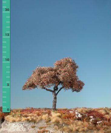 Silhouette Apfelbaum - Spätherbst - 1 (ca. 10-13cm) - H0 (1:87) - (226-14)