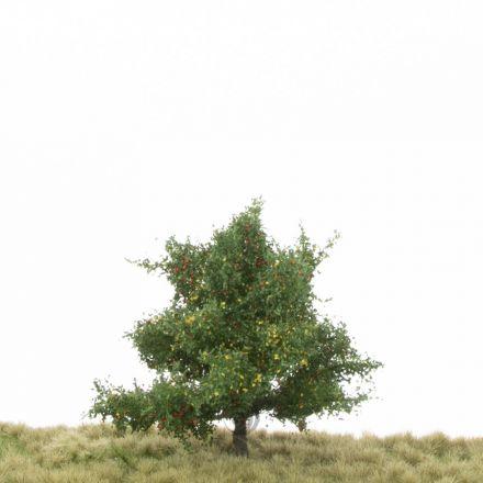 Silhouette Apfelbaum - Frühherbst - 1 (ca. 12-16cm) - H0 (1:87) - (226-43)
