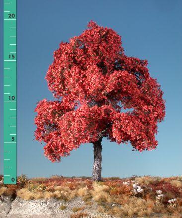Silhouette Ahorn - Spätherbst (rot) - 3 (ca. 22-29cm) - H0 (1:87) - (230-35)