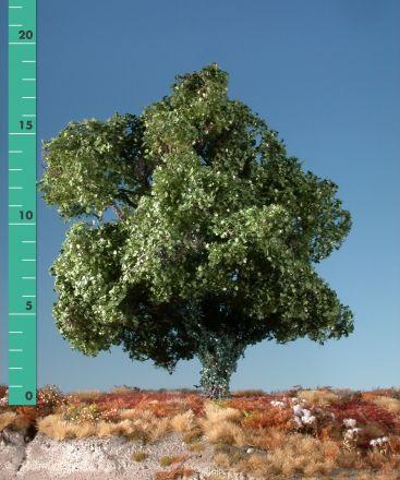 Silhouette Ahorn mit Efeu bewachsen - Sommer - 2 (ca. 15-20cm) - H0 (1:87) - (231-22)