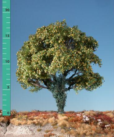 Silhouette Ahorn mit Efeu bewachsen - Frühherbst - 2 (ca. 15-20cm) - H0 (1:87) - (231-23)
