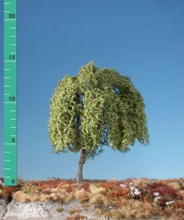 Silhouette Trauerweide - Frühherbst - 1 (ca. 10-13cm) - H0 (1:87) - (240-13)