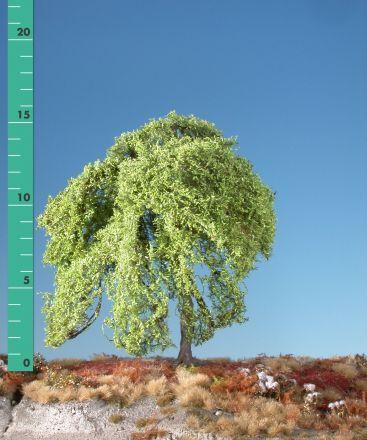 Silhouette Trauerweide - Frühling - 2 (ca. 15-20cm) - H0 (1:87) - (240-21)