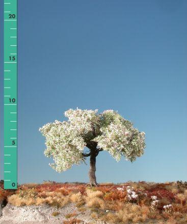 Silhouette Apfelbaum - Frühling - ca. 19cm - 0-1 (1:45+) - (326-21)