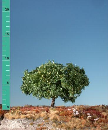 Silhouette Apfelbaum - Sommer - ca. 19cm - 0-1 (1:45+) - (326-22)