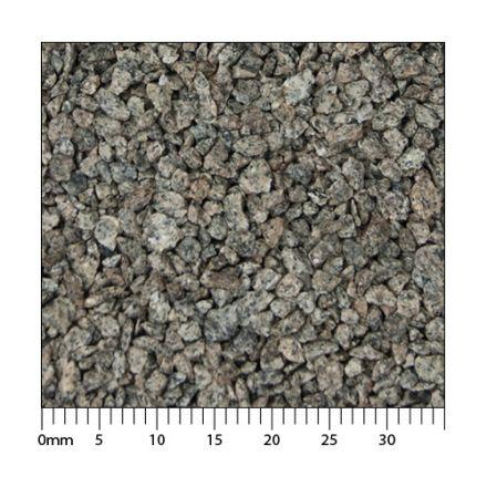 Minitec Gleisschotter - Phonolith 1 (1:32) - Exakt maßstäbliche Körnung der Klasse I - 2.000 ml - I (1:32) - (51-0051-06)
