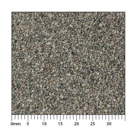 Minitec Gleisschotter - Phonolith H0 (1:87) - Exakt maßstäbliche Körnung der Klasse I - 5.000 ml - H0 (1:87) - (51-0061-04)