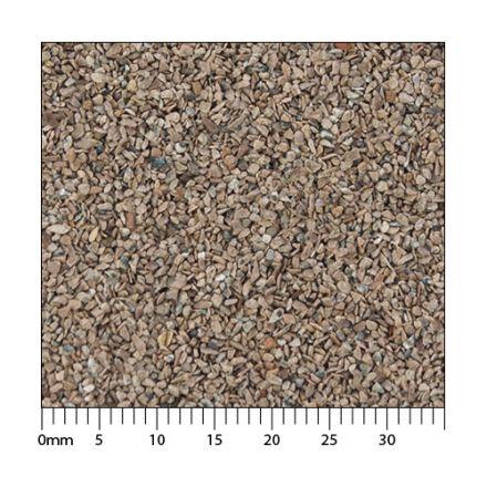 Minitec Gleisschotter - Rostbraun H0 (1:87) - Exakt maßstäbliche Körnung der Klasse I - 5.000 ml - H0 (1:87) - (51-1061-04)