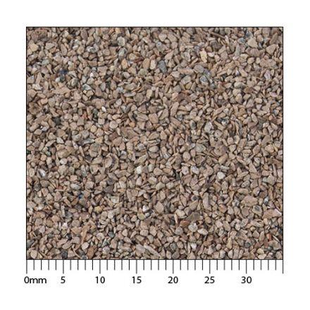 Minitec Standard-Schotter - Rostbraun H0 (1:87) - Erhöhte Körnung nach AGN* - 5.000 ml - H0 (1:87) - (51-1361-04)