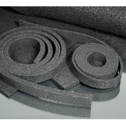 Minitec Flex-Bettungsstreifen - L 600 / B 15 / H 6 mm - 1/2 Schwellenbreite - 10x Streifen - (58-6015-00)