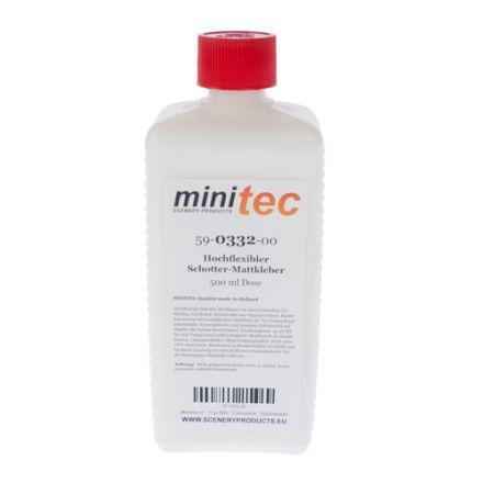 Minitec Hochflexibler Schotter-Mattkleber - 500 gr Flasche - (59-0332-00)