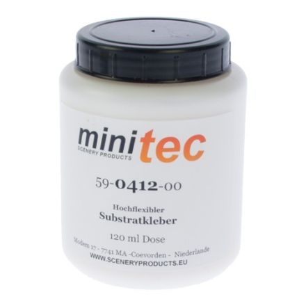 Minitec Hochflexibler Substratkleber - (Randwege/Bettungsschrägen) - 120 gr Dose - (59-0412-00)