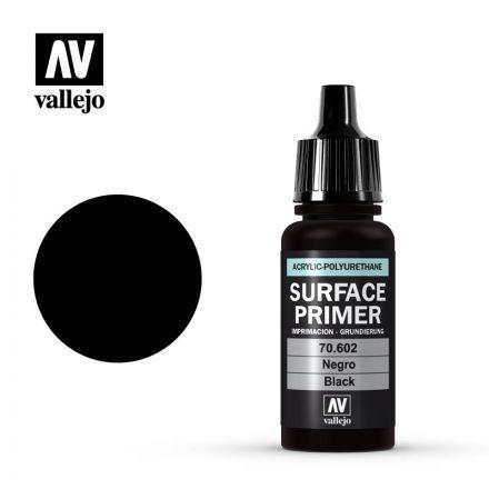 Vallejo Surface Primer - Black - 17 ml - (70.602)