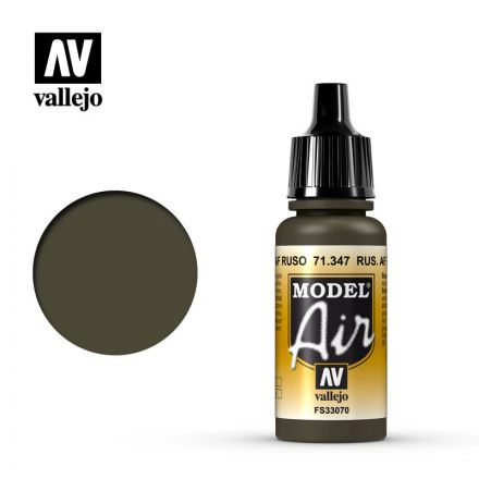 Vallejo Model Air - Russian AF Dark Green - 17 ml - (71.347)
