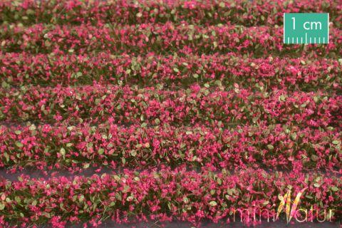 miniNatur Blütenstreifen - Magenta - ca. 336cm - H0 (1:87) - (731-26)