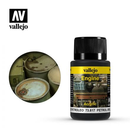 Vallejo Weathering Effects - Petrol Spills - 40 ml - (73.817)