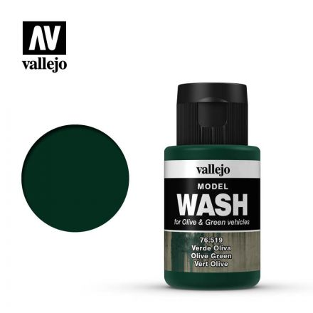 Vallejo Model Wash - Olive Green - 35 ml - (76.519)