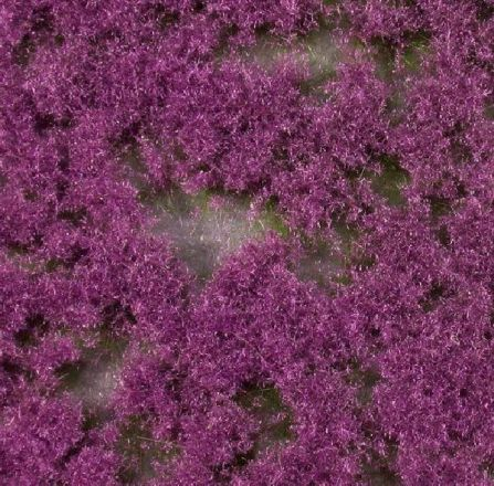miniNatur Bodendecker, violett - Sommer - ca. 15x8cm - H0 (1:87) - (791-28S)