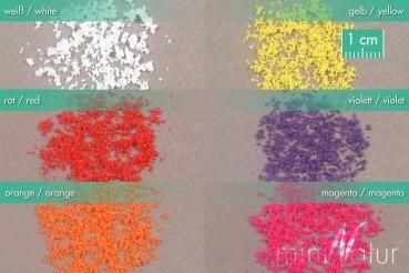miniNatur Set Blüten lose - Blüten weiß  - 3g - H0 (1:87) - (898-21MS)