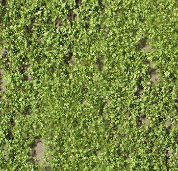 Silhouette Pappellaub - Frühling - ca. 15x4cm - H0 (1:87) - (913-21S)