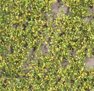 Silhouette Pappellaub - Frühherbst - ca. 15x4cm - H0 (1:87) - (913-23S)