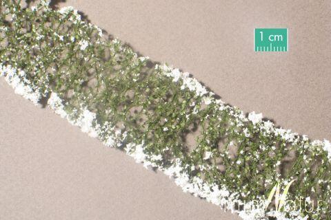 miniNatur Blumen - Weiss - ca. 4 x 7,5 cm - H0 (1:87) - (998-21MS)