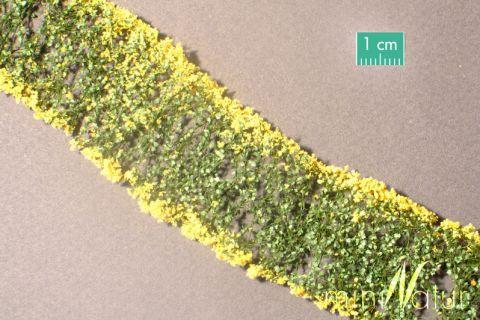 miniNatur Blumen - Gelb - ca. 4 x 7,5 cm - H0 (1:87) - (998-22MS)
