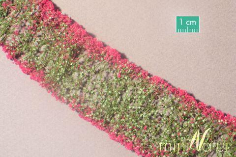 miniNatur Blumen - Magenta - ca. 4 x 7,5 cm - H0 (1:87) - (998-26MS)