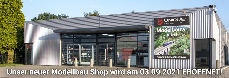 Unser neuer Modellbau Shop wird am 03.09.2021 ERÖFFNET!